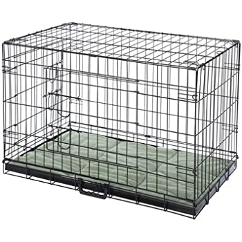 Amazon Confidence Pet 2 Door Dog Cage Crate With Bed 2x