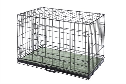 Confidence Pet 2 Door Dog Cage Crate With Bed - 2X