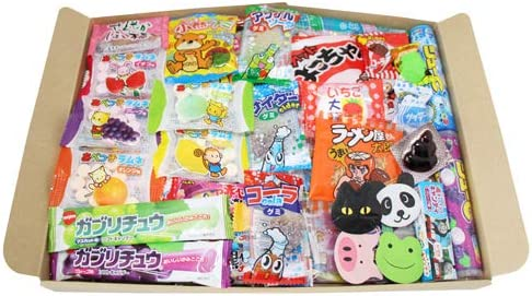 おかしのマーチ お菓子ぎっしり駄菓子箱セット(全55コ)セット A