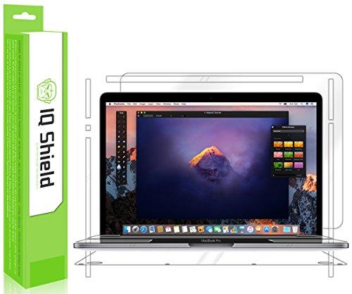MacBook Pro Protector, IQ Shield LiQuidSkin Full Body Skin + Full Coverage Skin Protector for MacBook Pro (13