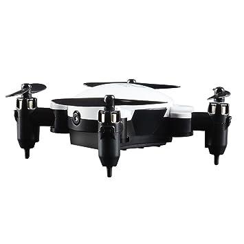 Leewa Xmas Drone, HJHRC 2 4G 4CH 6-Axis Foldable Pocket Drone, RC