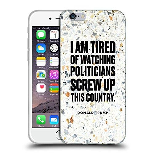 Super Galaxy Coque de Protection TPU Silicone Case pour // Q04080535 Pavillon du président Donald Trump // Apple iPhone 7