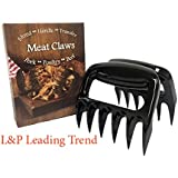 Set of 2 BBQ Meat Claws , Pork Shredder and handler