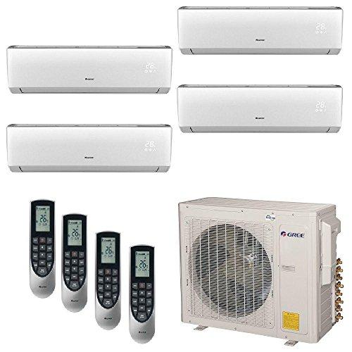 Gree MULTI30BNEO400   30,000 BTU +Multi Quad Zone Wall Mount Mini Split Air  Conditioner Heat Pump... From Gree