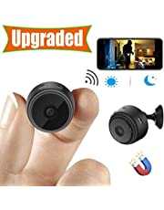 [Upgraded] Spy Camera Wireless Hidden Cameras Mini WiFi Cam HD 1080P Small Nanny Cams Home Security Battery Powered Motion Detection Night Vision Remote View by Android/iPhone/PC