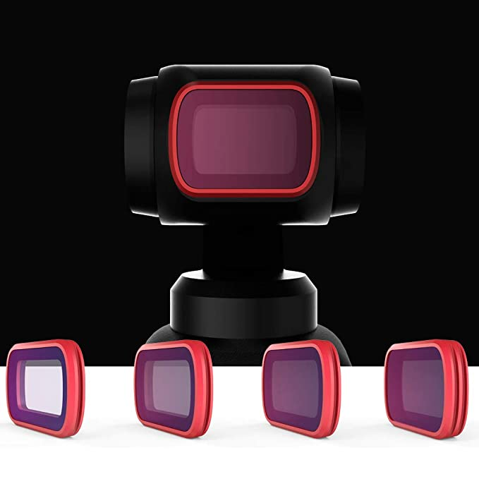 RONSHIN 3pcs PPGYTECH OSMO Pocket Filters Kit DJI OSMO Pocket CPL//ND8//ND16 Professional Camera Filter Handheld Gimbal Accessories