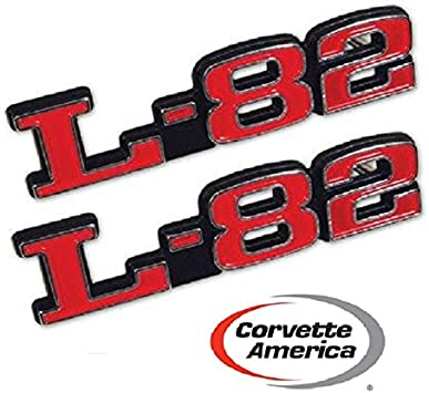 1973-1979 Corvette L-82 Hood Emblems