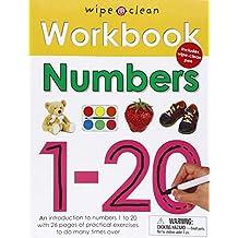 Wipe Clean Workbook Numbers 1-20