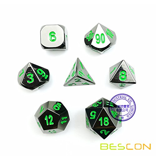 d and d metal dice set - 9