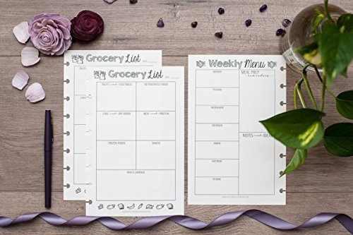 Meal Planning Bundle for the Mini Happy Planner, 6 Month Supply, 4.265