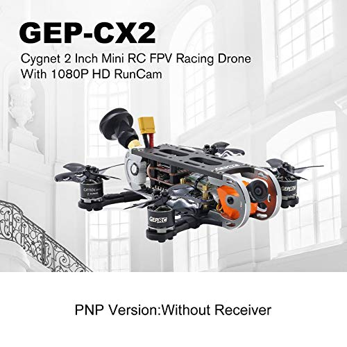 Wikiwand Geprc GEP-CX2 Cygnet 2 Inch RunCam 1080P HD 6000kv Motor RC Mini Aircraft PNP by Wikiwand (Image #4)