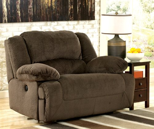 Toletta Chocolate Zero Wall Wide Seat Recliner - Chair And A Half Recliner: Amazon.com