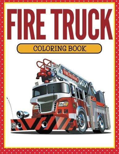 fire truck coloring book - 6