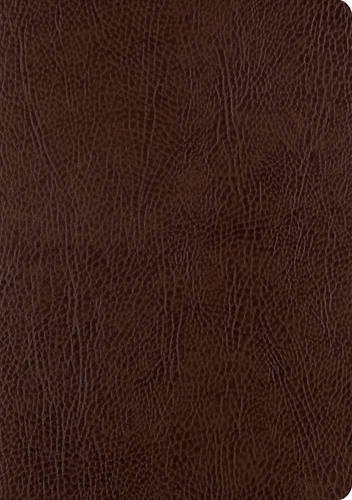 (ESV Single Column Journaling Bible, Large Print (Mocha))