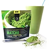 Jade Leaf - Organic Japanese Matcha Green Tea Powder, Culinary Grade (For Blending & Baking) - [30g Starter Size]