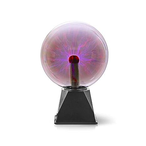 valueline sfera di luce al plasma  Nedis - Sfera di luce al plasma, 10 W, 3500 lm, vetro 2:  ...