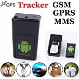 Jentron Smallest GPS tracker with Audio Video recording for Kids Pets Elders