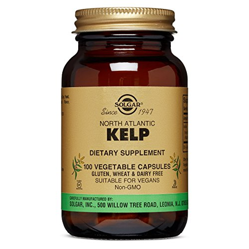 Solgar - North Atlantic Kelp, 100 Vegetable Capsules