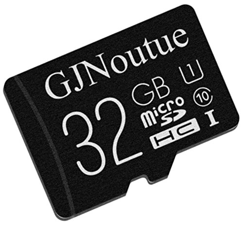 Micro Sd Card 32GB Class 10 with Adapter Black, Standard Packaging (GJNcs014/32SC)