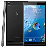 Kingzone K1 16GB Black, 5.5 inch 3G Android 4.3.9 Phablet, MTK6592 1.7GHz Octa Core, RAM: 2GB, WCDMA & GSM, Dual SIM(Black)