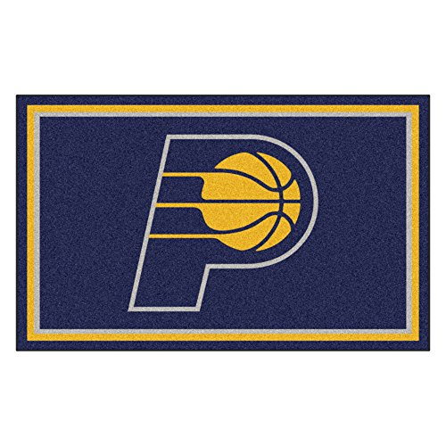 FANMATS 20429 44''x71'' Team Color NBA - Indiana Pacers Rug by Fanmats