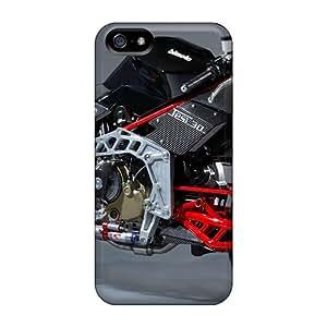 New Design Shatterproof KrO21253rAVJ Cases For Iphone 5/5s (bimota Tesi 3d) Black Friday