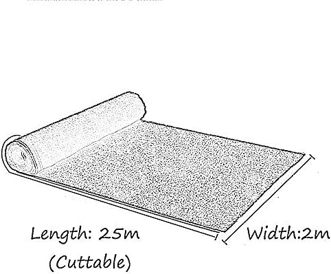 XEWNEG 防水暗号化された15ミリメートルグリーン人工芝、ガーデン、屋外美しく環境ウォールデコレーション、偽の芝生ペットマットの場合は、カットすることができます (Size : 2x7M)