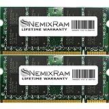 4GB (2X2GB) NEMIX RAM Memory for Apple iMac 2.4GHz 20-inch Aluminum (DDR2 800MHz 200PIN PC2-6400)