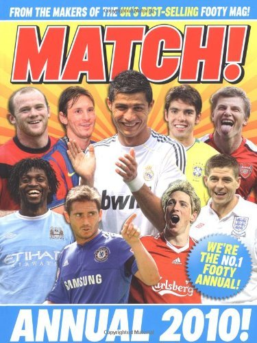 Match Annual 2010: From the Makers of Britain's Bestselling Football Magazine by MATCH (2009-10-02)
