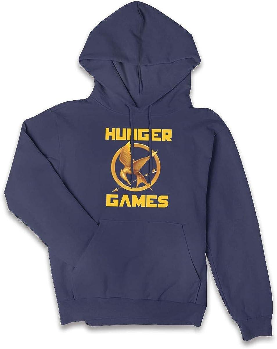 AIDANHAR Schoolgirl Personalized Hunger-Games-Logo Hooded New Sweatshirt Black