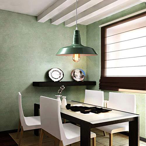 FidgetGear 26/36cm Industrial Loft Pendant Light Chandelier Lid-Shape Aluminum Ceiling Lamp White 36cm by FidgetGear (Image #4)