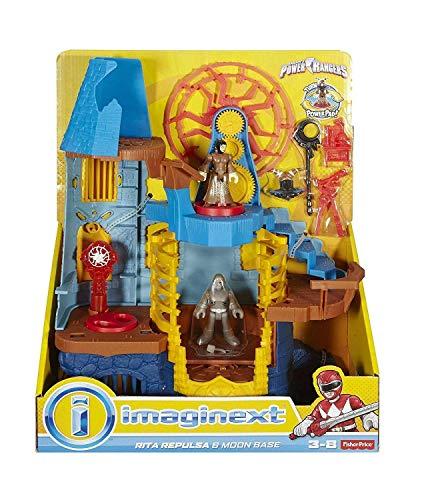 Imaginext Power Rangers Rita Repulsa and Moon Base
