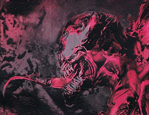(Carnage Symbiote Metal Poster Marvel Spray Paint Art (Spider-man and Venom Villain))