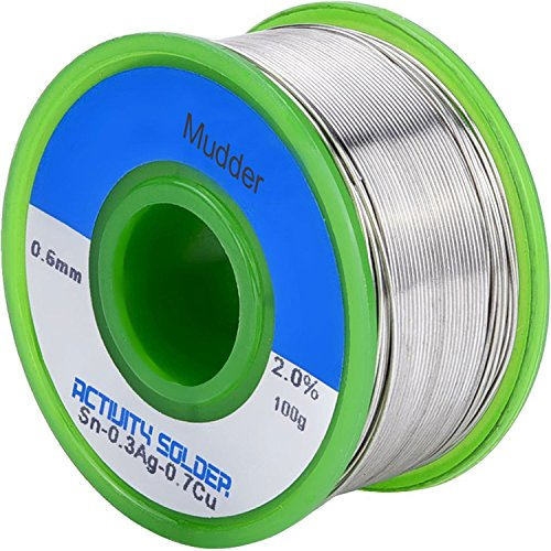 Picture of a Mudder Lead Free Solder Wire 751570403004