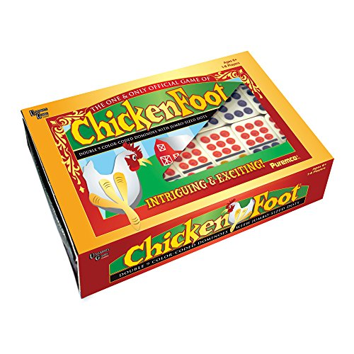 Chicken Foot Dominoes Game with Box by PureMCO