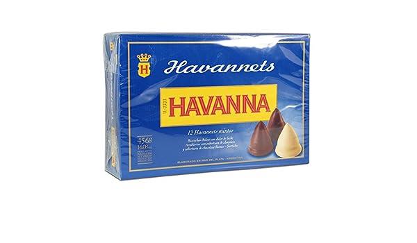 Havanna Havannets - Bombones cónicos rellenos de dulce de leche (surtido variado, 12 unidades): Amazon.es: Salud y cuidado personal