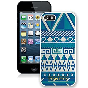 Pendleton 11 White iPhone 5S Screen Phone Case Sweet and Grace Style