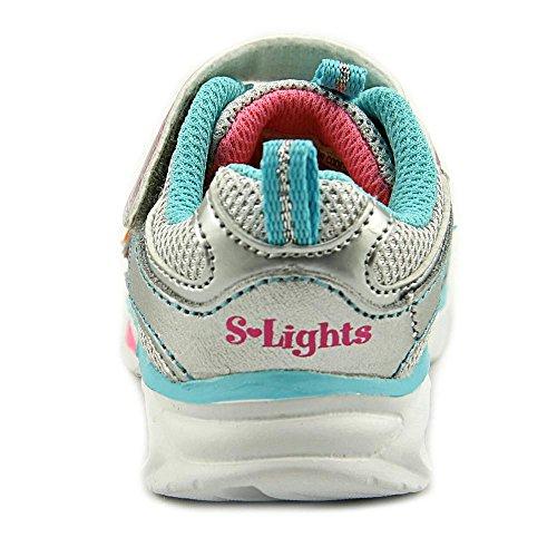 Skechers Kids Blissful Light-Up Zapatillas Plateado (Silver Multi)
