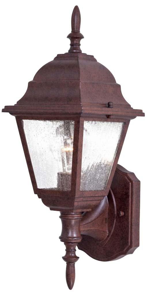 Minka Lavery Outdoor Wall Light 9060-91 Bay Hill Exterior Wall Lantern, 75 Watts, Bronze