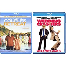 Couples Retreat & The Wedding Crashers Double Feature Vince Vaughn Comedy Double Bundle Movie Set