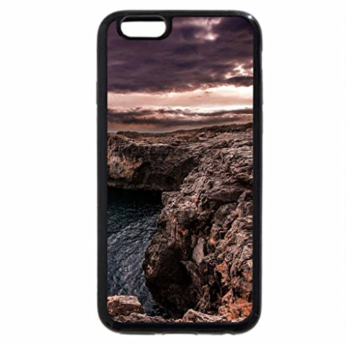 iPhone 6S Case, iPhone 6 Case (Black & White) - entering a wondrous valley