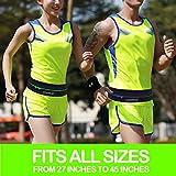 GEARWEAR Running Belt Workout Waist Bag Pack for