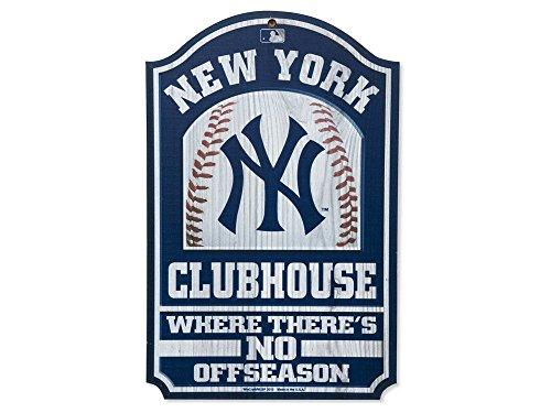WinCraft MLB New York Yankees 28917012 Wood Sign, 11