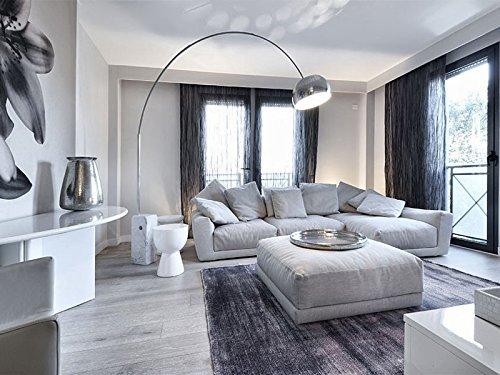 Flos arco lampada da terra design castiglioni base marmo w