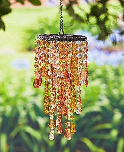 Chandelier Wind Chimes Amber For Sale