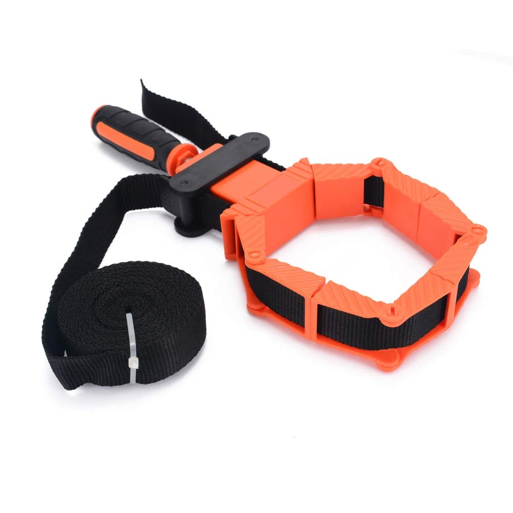 TOYECOTA - Woodworking Picture Frame Band Strap Clamp Holder Miter Vise Ratchet Corner Clamp Band Strap Po Tools by TOYECOTA