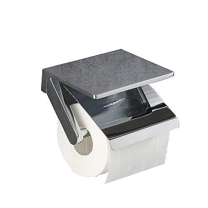 WETERS - Soporte de Papel higiénico de Cobre, diseño de Hotel, Ideal para baño