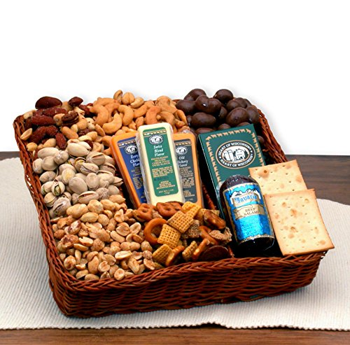Snackers Delight Gourmet Nut & Snack Gift Tray by Gourmet Nut Snack Tray (Image #2)