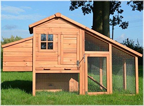Komfort Hühnerhaus Hühnervoliere Hühnerstall Gefügelstall Voliere