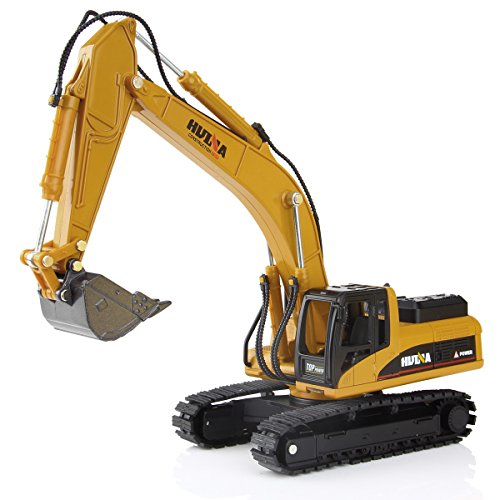 Alloy Excavator Model Toy 1:50 Diacast Caterpillar Engineering Construction Vehicle Gift for kids Decorate for Home
